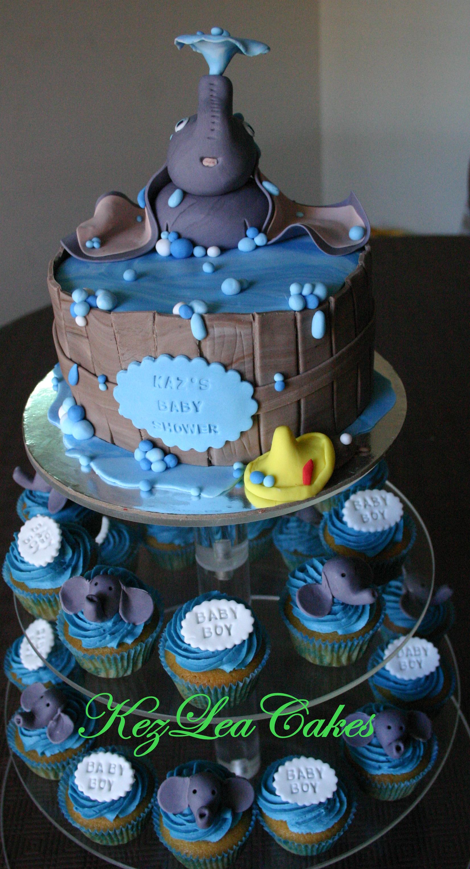 Baby Shower U2013 Dumbo Cupcake Tower