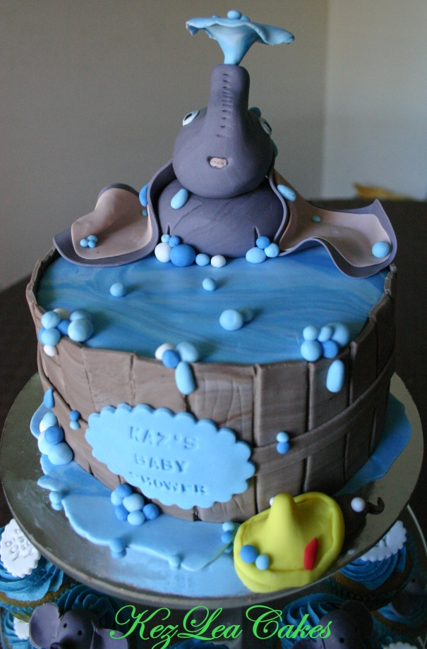 baby shower dumbo kez lea cakes